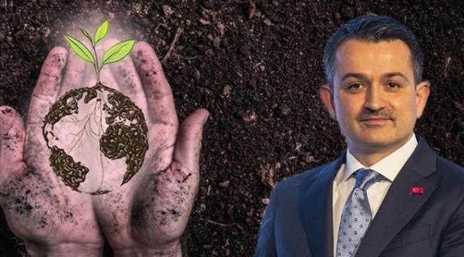 Bakan Pakdemirli : Gıda ihtiyacımızın yüzde 95'ini topraktan karşılıyoruz