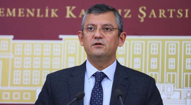 CHP Grup Başkanvekili Özel gündeme ilişkin değerlendirmelerde bulundu.