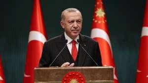 Cumhurbaşkanı Erdoğan : Kadınları şiddet ve ayrımcılık başta olmak üzere, kötülüklerden korumak için her türlü tedbiri alacağız