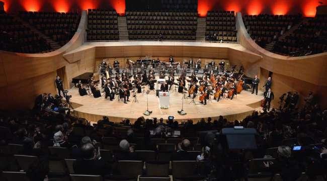 Cumhurbaşkanlığı Senfoni Orkestrası Yeni Binası Kapılarını Sanatseverlere Açtı