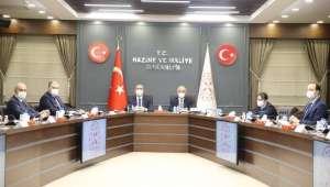 Hazine ve Maliye Bakanı Elvan ve Adalet Bakanı Gül MÜSİAD Yönetimiyle Bir Araya Geldi