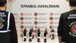 İstanbul Havalimanı'nda 17 kilogram sıvı kokain ele geçirildi