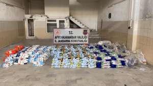 Sahte deterjan satıcıları yakayı ele verdi