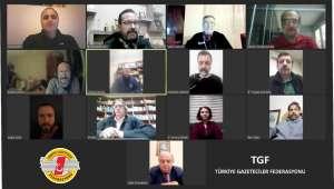 TGF'den Basın İlan Kurumu'na teşekkür