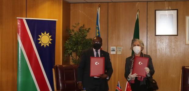 """Türkiye ile Namibya Cumhuriyeti Arasında """"Kalkınma İşbirliği Anlaşması"""" İmzalandı"""