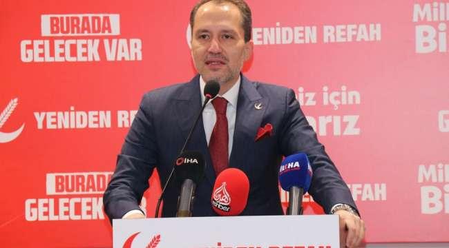 YRP Genel Başkanı Dr. Fatih Erbakan : Bir devletin itibarı memur ve işçisinin yaşam standardıyla ölçülür