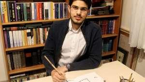 AFSÜ Tıp Fakültesi Öğrencisi Akif Demir : Hat sanatı bizim için bütünün parçası, medeniyetin inşasıdır