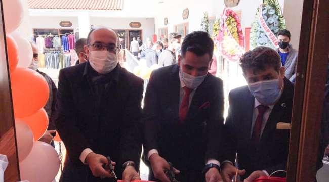 Başkan Mustafa Çöl İş Yeri Açılışlarına Katıldı