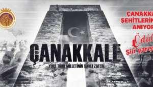 Çanakkale Şehitlerini şiir yarışmasında dereceye Girenler Belirlendi