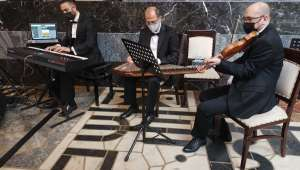 Devlet Konservatuvarı Öğretim Üyeleri TBMM Şeref Salonunda Konser Verdi