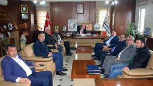 İYİ Parti Afyonkarahisar İl Başkanı Mısırlıoğlu'dan Başkan Şahin'e Ziyaret