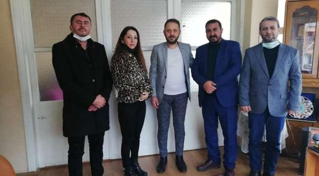 TDP'den Gazeteci Dağhan'a ziyaret