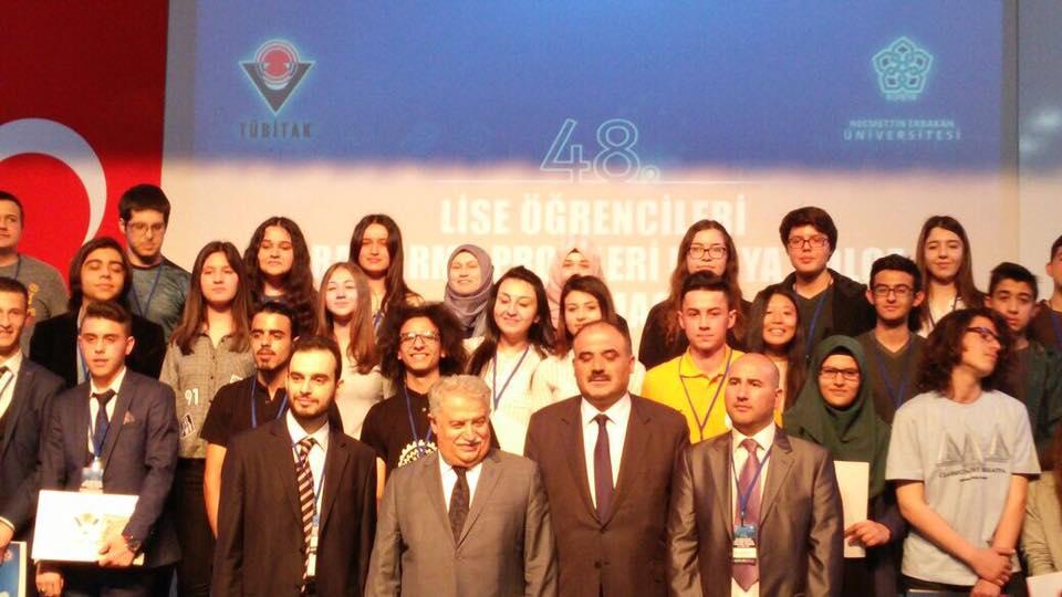 Afyonkarahisar AİHL TÜBİTAK yarışması Türkiye finaline katılacak