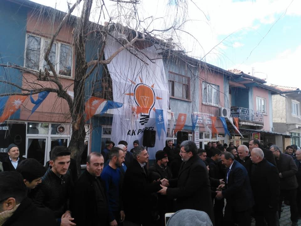 AK Parti Tatarlı Seçim Bürosu Açıldı