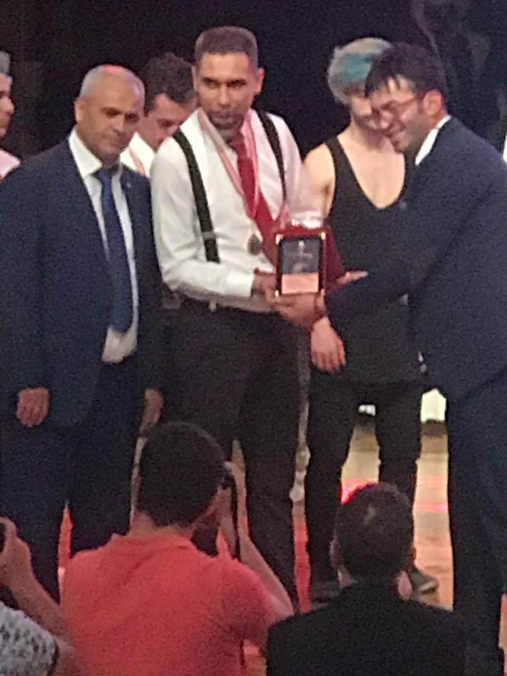 Altın Makaslar Şampiyonasında Afyonkarahisar'ın gururu oldu