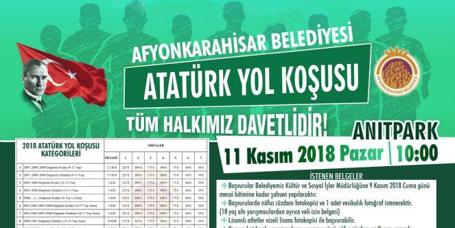 Atatürk yol koşusu 11 kasımda satar alacak