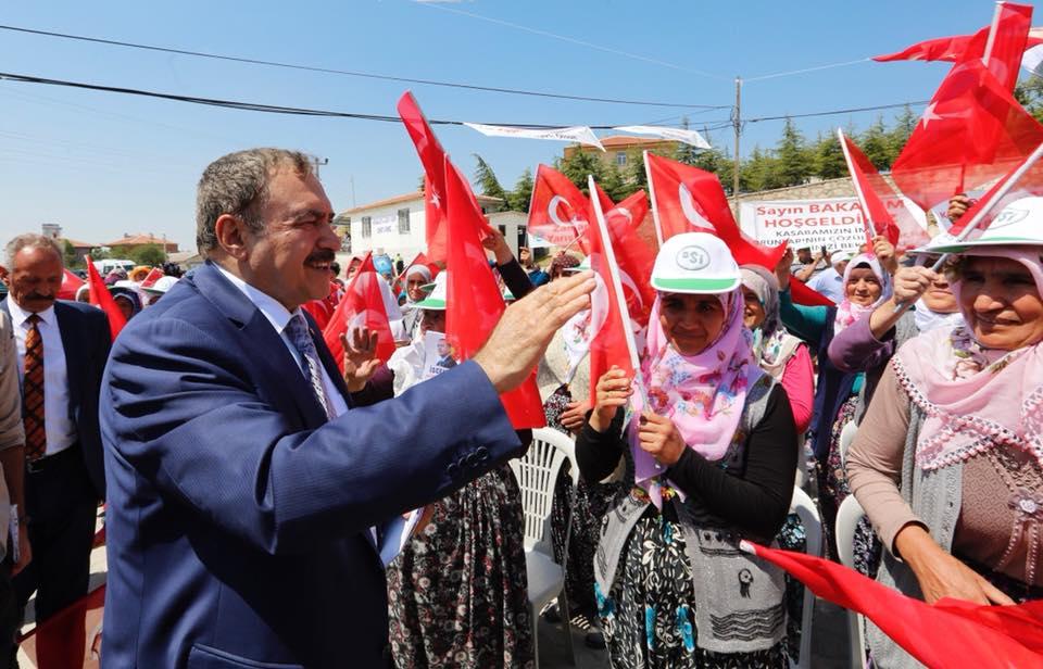 Bakan Eroğlu'dan Afyonkarahisar'a Muazzam Yatırımlar