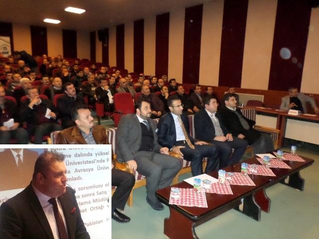 Bolvadin'de işadamlarına 'İş Yaşamında Profesyonellik' semineri