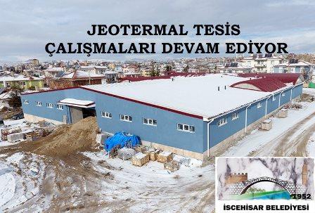 Çibik yapımı devam eden jeotermal tesiste incelemelerde bulundu