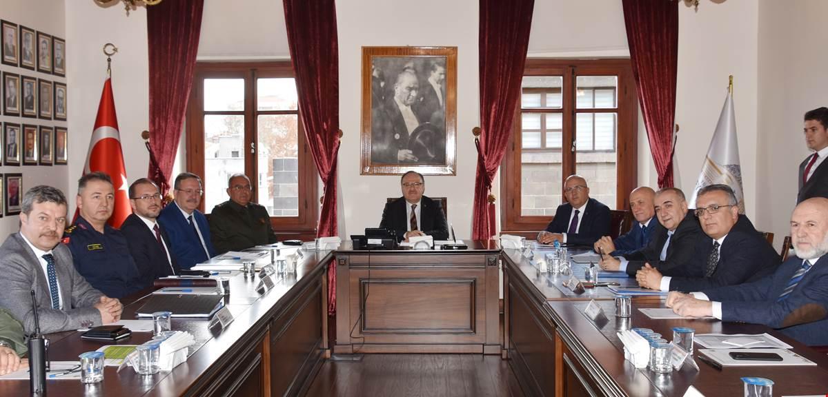 Cumhurbaşkanı Erdoğan'ın Afyonkarahisar Ziyaretine İlişkin Toplantı Yapıldı