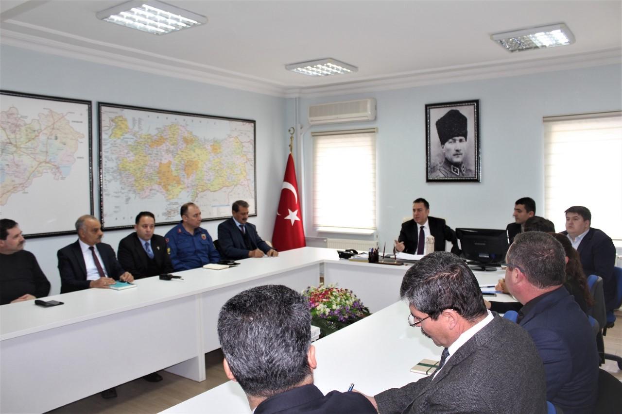 Dinar İlçesinde Bağımlılıkla Mücadele Koordinasyon Toplantısı Yapıldı
