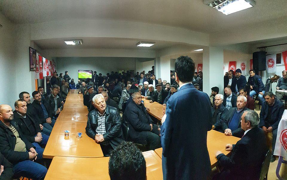 DP İscehisar seçim bürosu açıldı