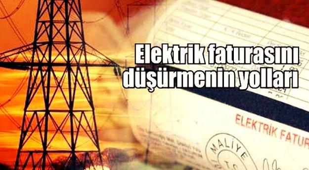 Elektrik Faturanızı Düşürmenin Yolları