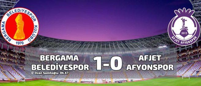Afjet Afyonspor Bergama Belediyespor maçı 2.yarı 1. bölüm