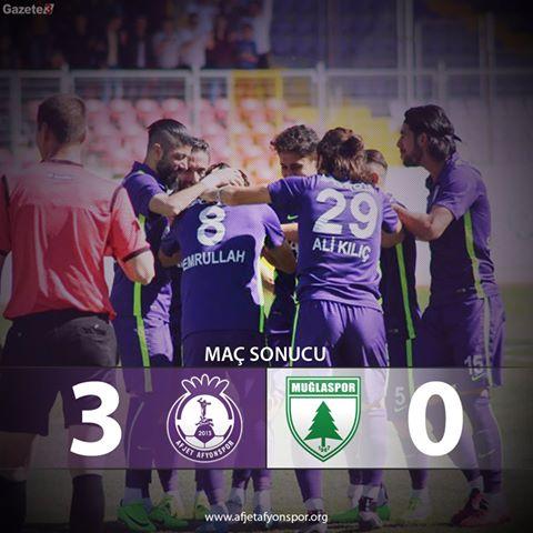 Afjetafyonspor Muğlaspor Maçı 1. Yarı