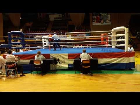 Muaythai Avrupa şampiyonası Şanlı Spor M.Kazım Köken yarı final maçı rakip Belarus